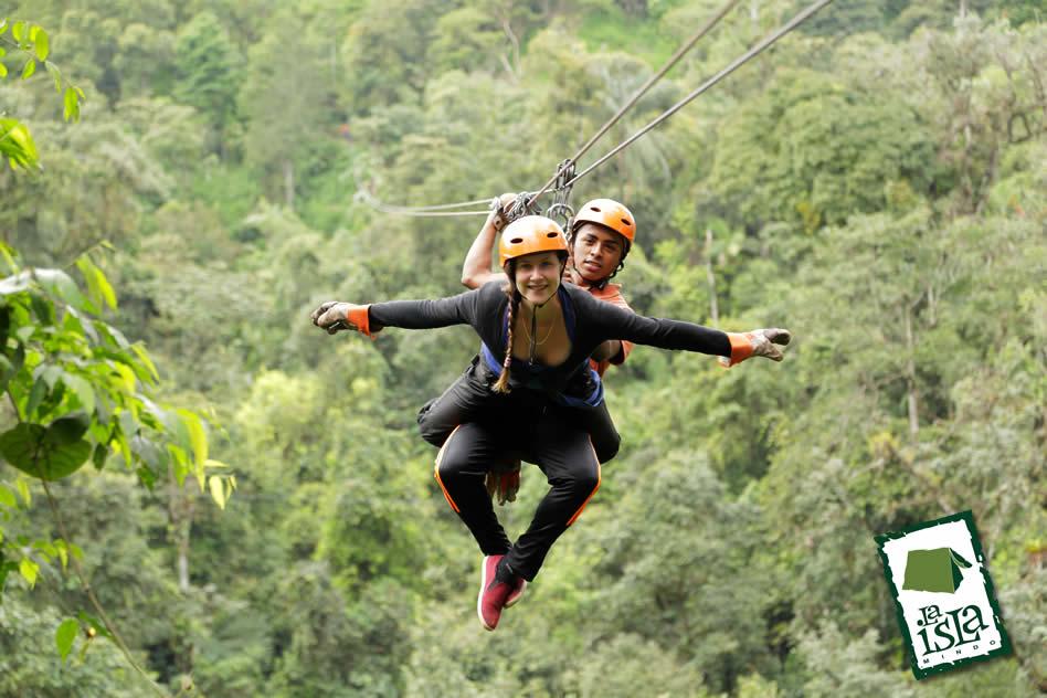 Canopy  sc 1 st  Mindo Ecuador & Canopy en Mindo - La Isla - Adventure Tours